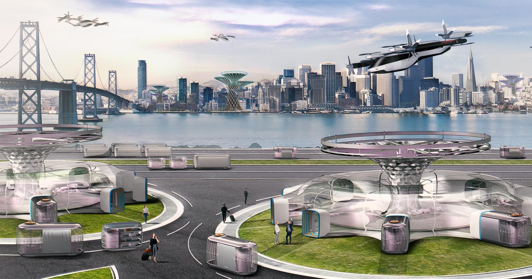 Hyundai открыл проект по созданию летающего автомобиля