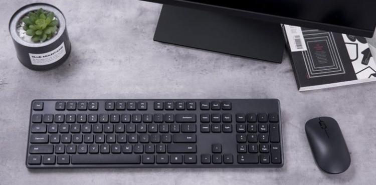 Новый комплект из клавиатуры и мыши Xiaomi не нуждается в проводах