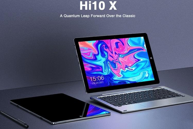Планшет «два в одном» Chuwi Hi10 X получит чип Intel Gemini Lake и поддержку пера