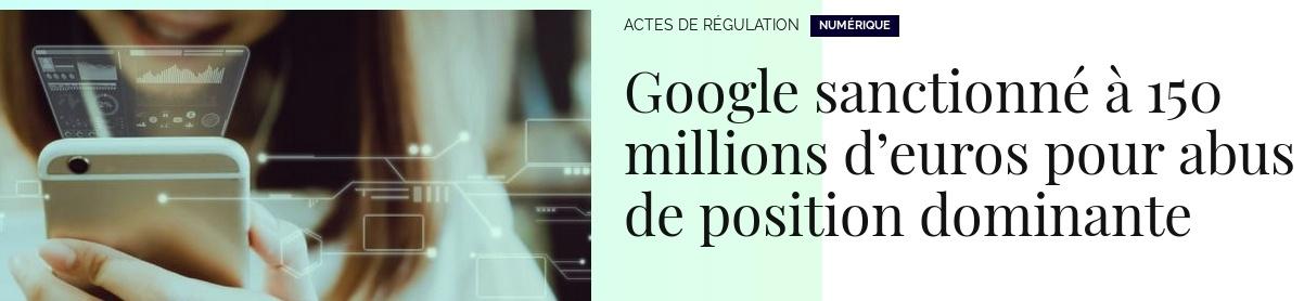 Во Франции оштрафовали Google на €150 млн (10,4 млрд ₽) за злоупотребления на рынке поисковой рекламы - 1