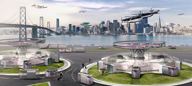 Hyundai Motor представит на CES 2020 концепцию летающего городского транспорта