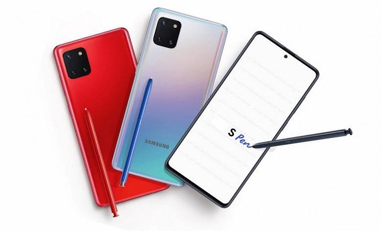 Не идеальный, но всё ещё интересный Samsung Galaxy Note10 Lite полностью рассекречен