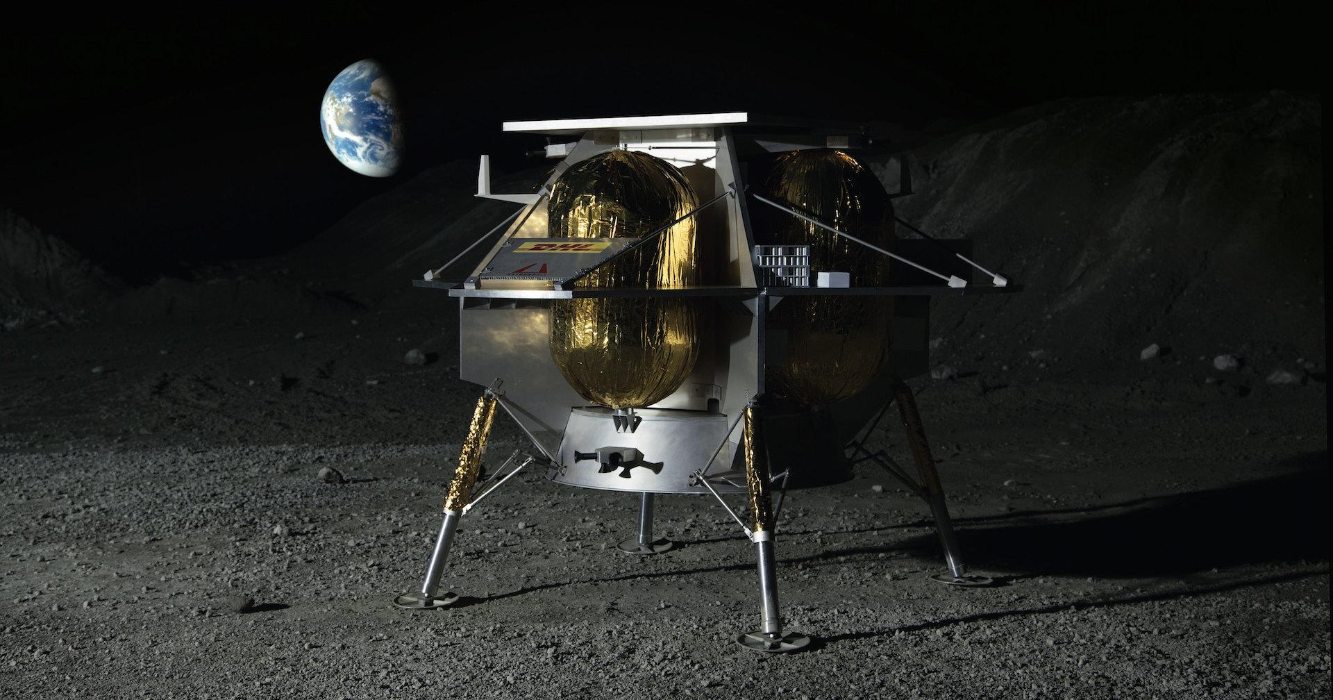 Почти как человек: первый робот на Луне