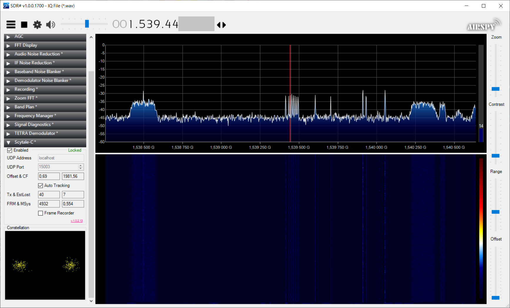 Inmarsat: принимаем и декодируем сигнал со спутника у себя дома - 8