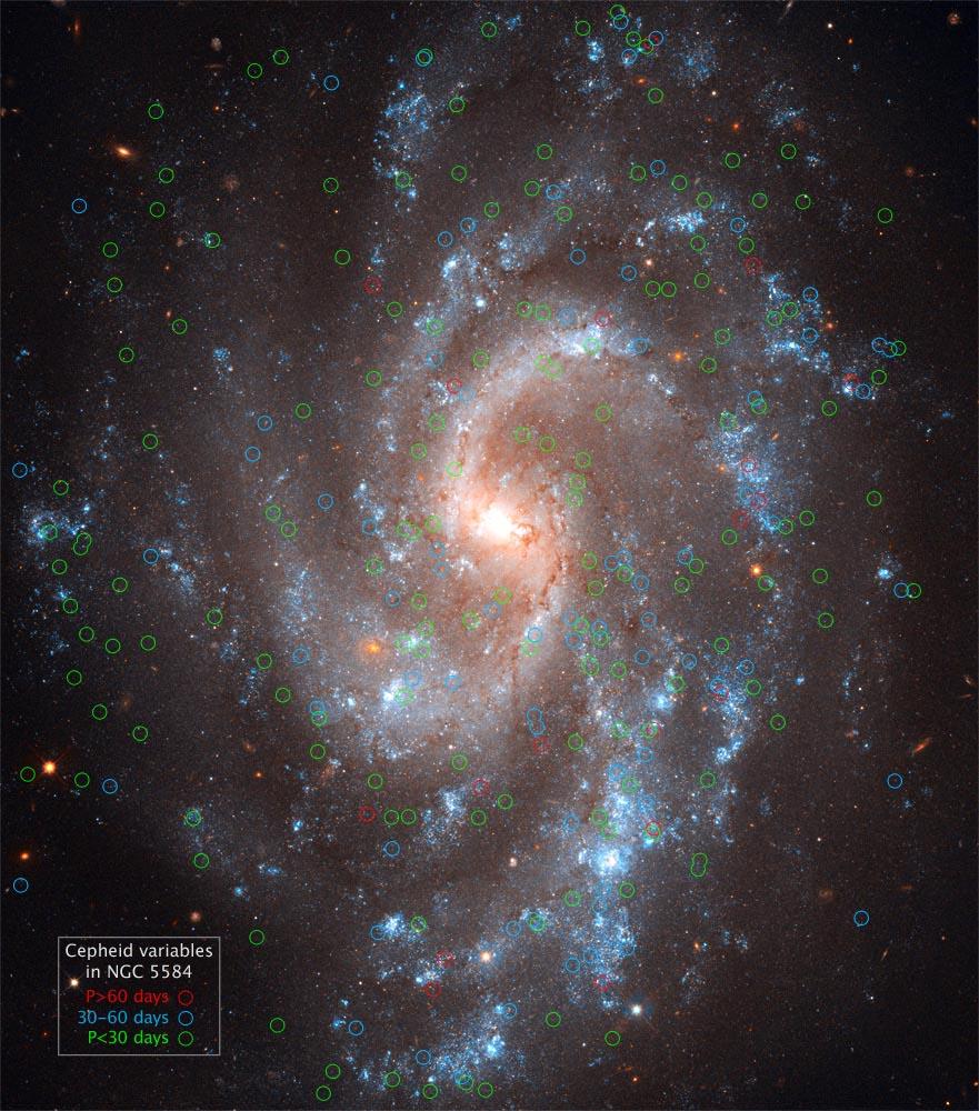 Цефеиды — звездные «верстовые столбы» Вселенной - 9