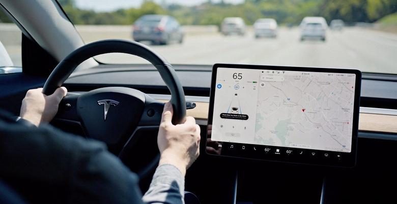 Кроме Tesla так не может никто. Автомобили компании получили очередное крупное обновление