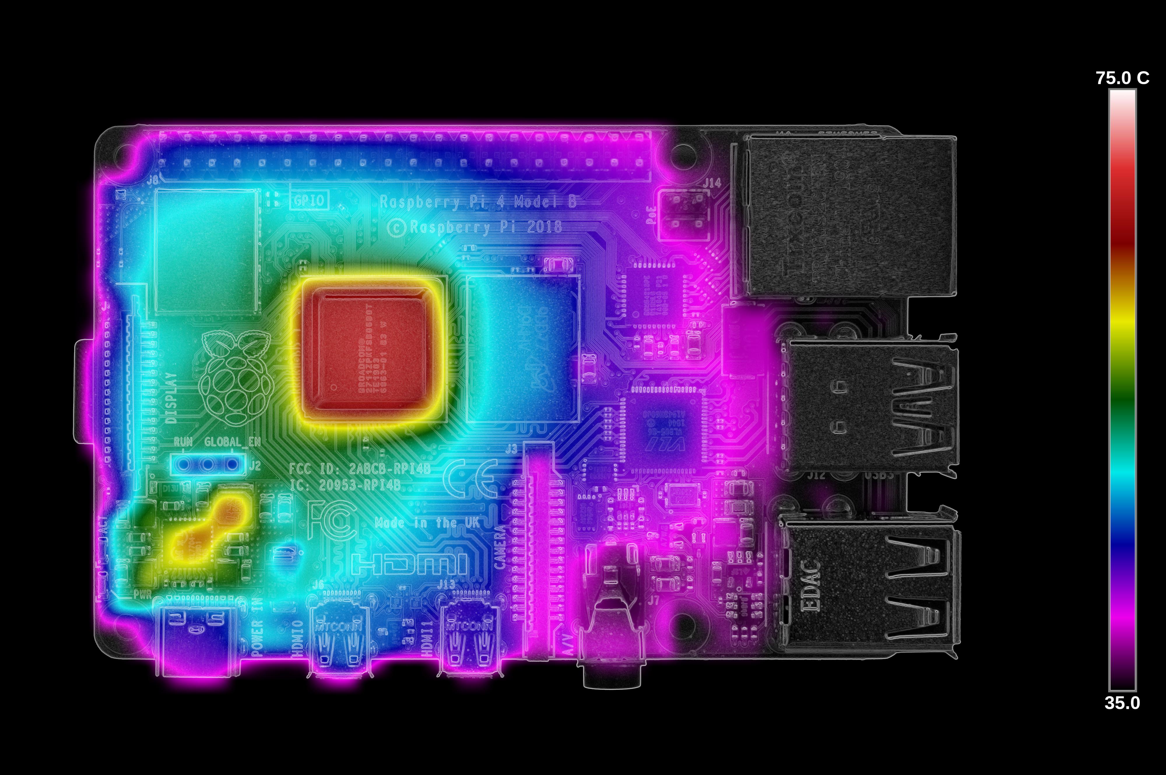 Тестирование Raspberry Pi 4 на нагрев - 24