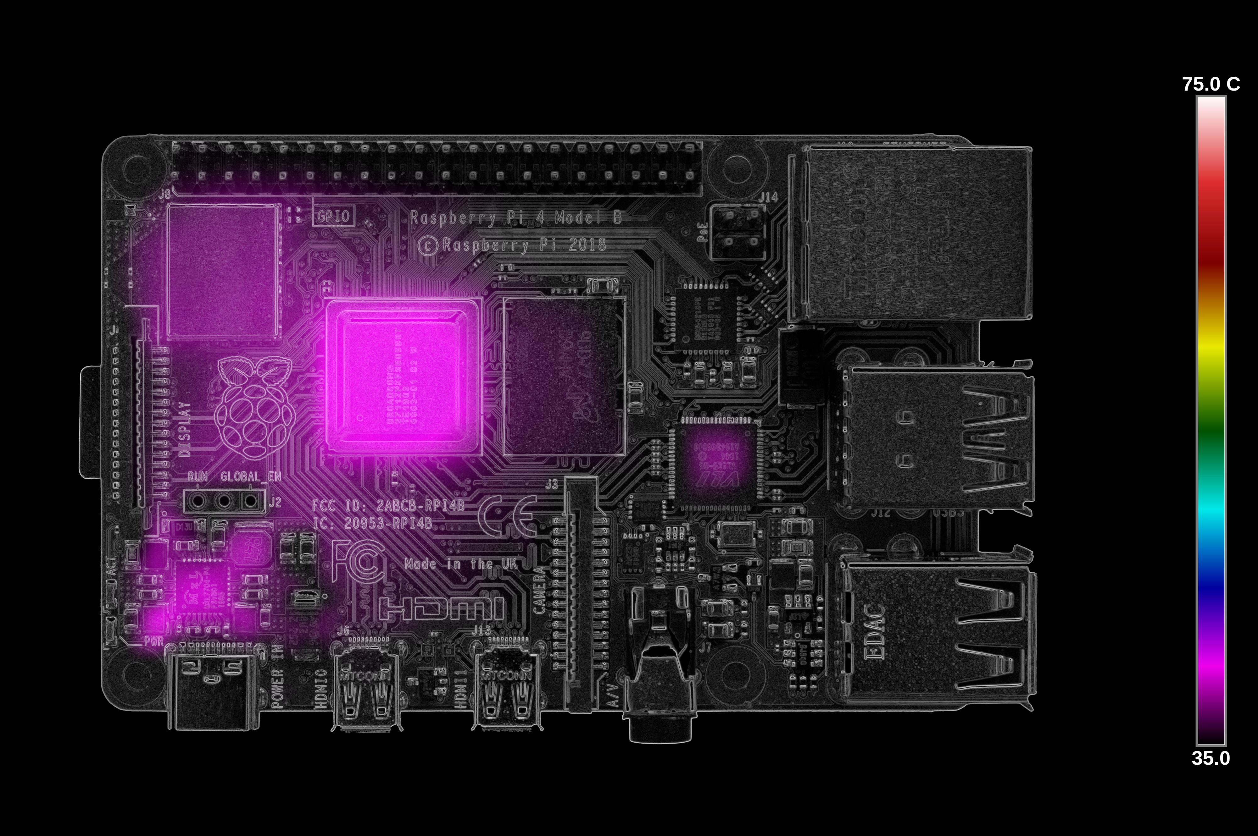 Тестирование Raspberry Pi 4 на нагрев - 28