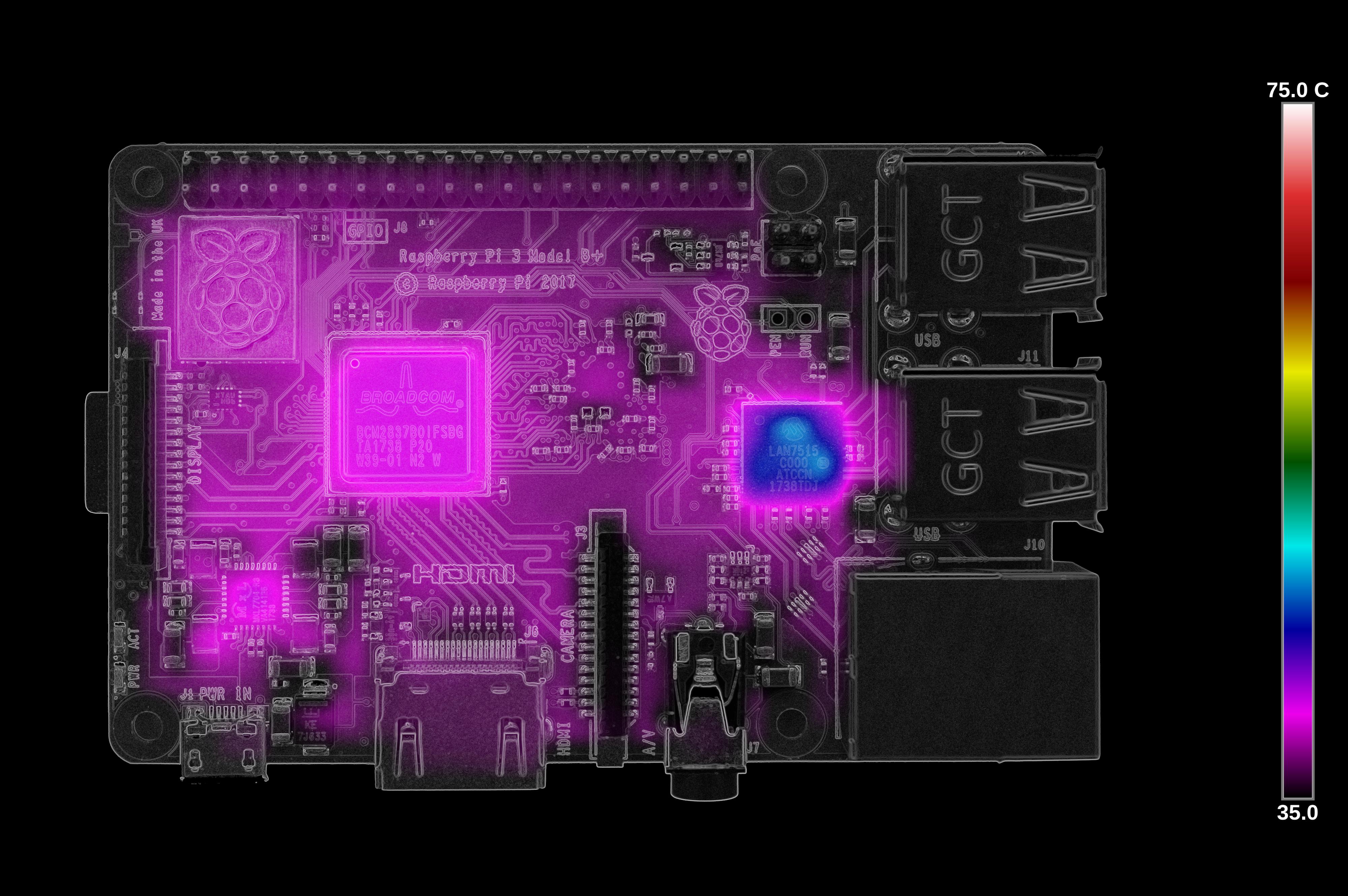 Тестирование Raspberry Pi 4 на нагрев - 4