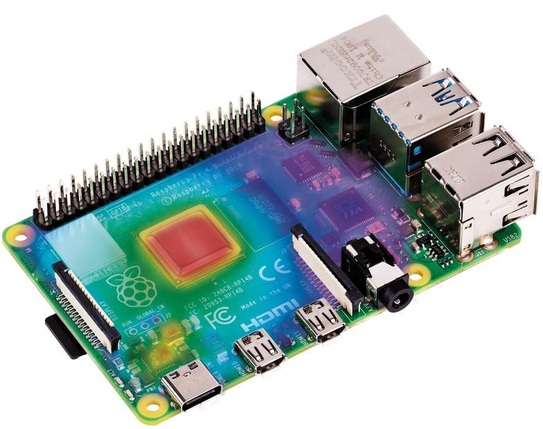 Тестирование Raspberry Pi 4 на нагрев - 1