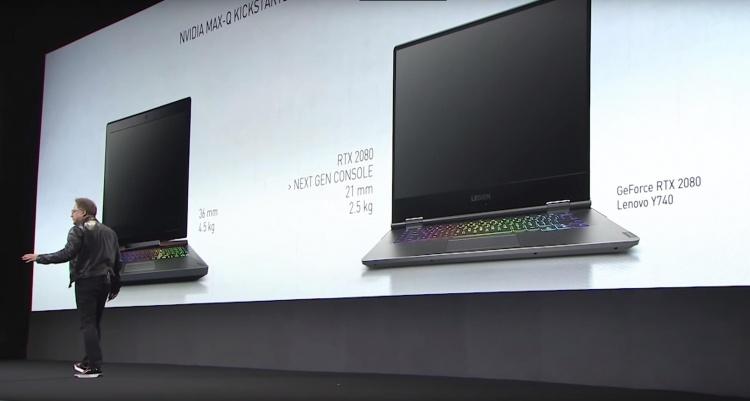 NVIDIA заявила, что мобильная GeForce RTX 2080 мощнее, чем консоли следующего поколения