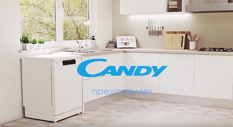 Мойка и сушка всего за 39 минут. В России появились новые посудомоечные машины Candy