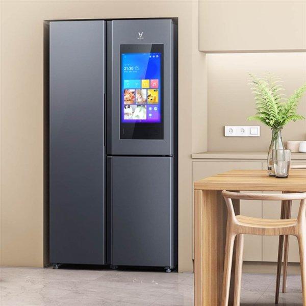 Xiaomi представила трехкамерный холодильник за $800 со встроенным 21-дюймовым экраном