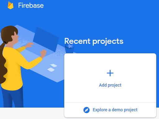 Консоль Firebase