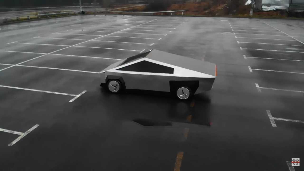 На МКАД заметили реплику Tesla Cybertruck. Как оказалось, это кастомизированный… ВАЗ 2109 - 1