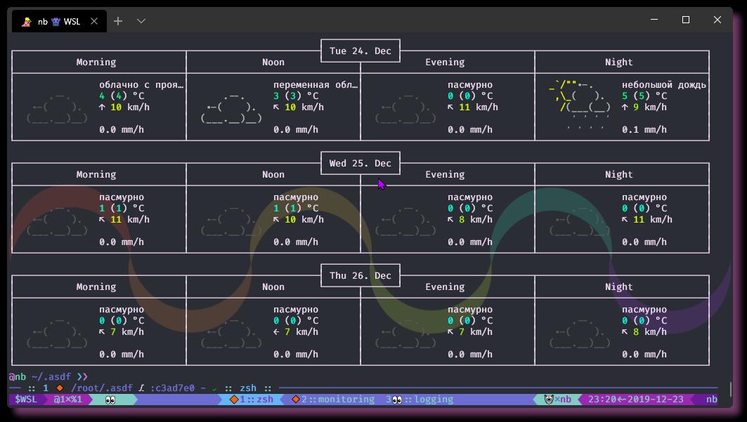 Настройка окружения в CLI. WSL - Windows Terminal - 14