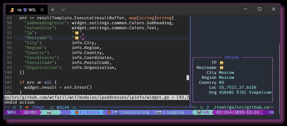 Настройка окружения в CLI. WSL - Windows Terminal - 18