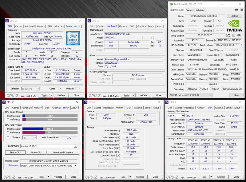 Новая статья: Обзор ноутбука ASUS ROG Zephyrus M GU502GU: универсал с уклоном в игры