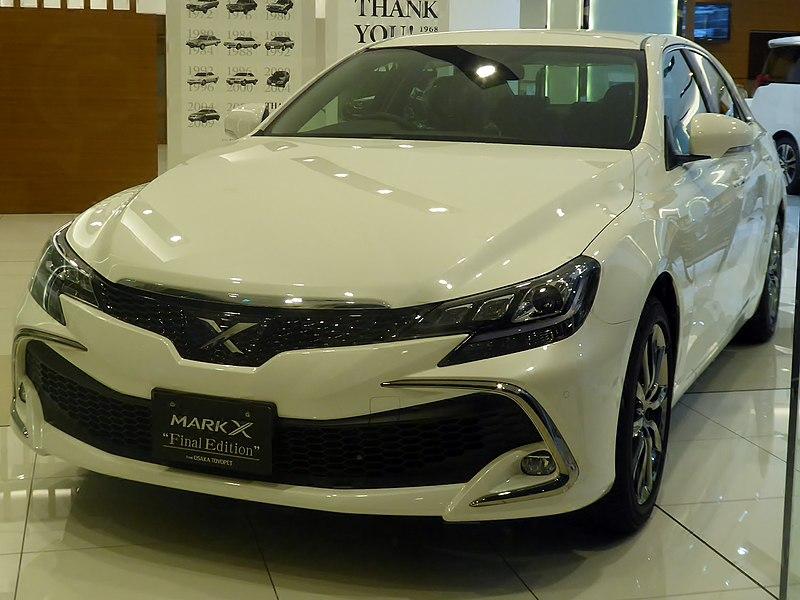 Toyota завершила производство Mark X