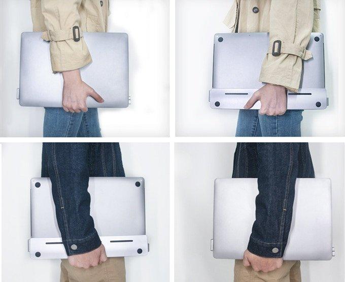 На выпуск «невидимого» дока для ноутбуков Apple MacBook собрано в 30 раз больше средств, чем планировалось