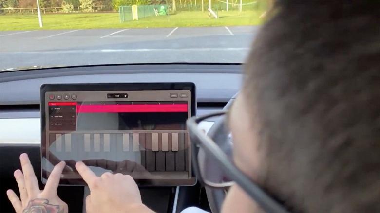 Новое обновление превращает машины Tesla в музыкальные инструменты