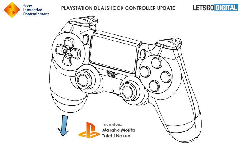 Sony запатентовала новый геймпад