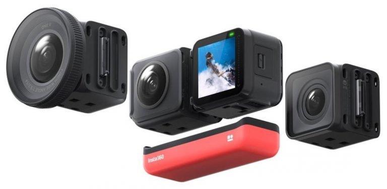 Появилось первое изображение экшн-камеры Insta360 ONE R
