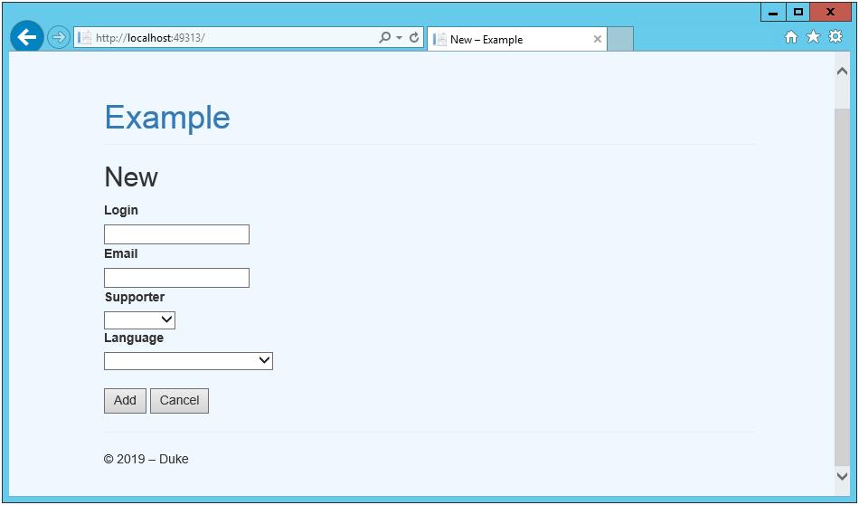ASP.NET MVC – работаем с MySQL через ADO.NET - 9
