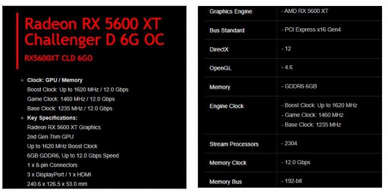 Radeon RX 5600 XT — это немного урезанная RX 5700