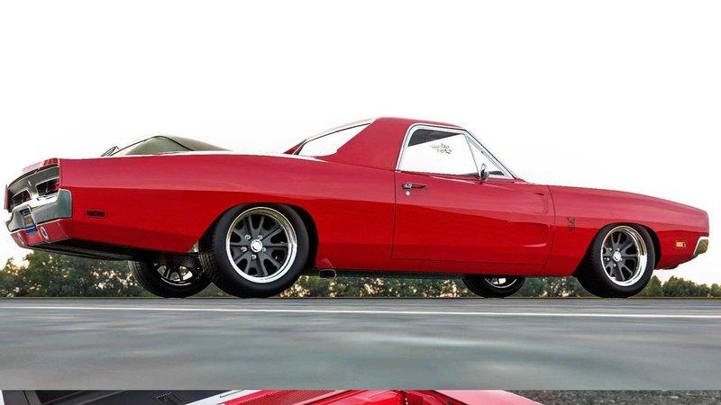 Дизайнер представил пикап на базе старого Dodge Charger