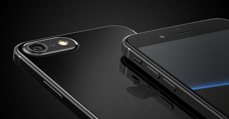 iPhone SE2 в четырех цветах, с одинарной камерой и огромными рамками экрана на новых рендерах