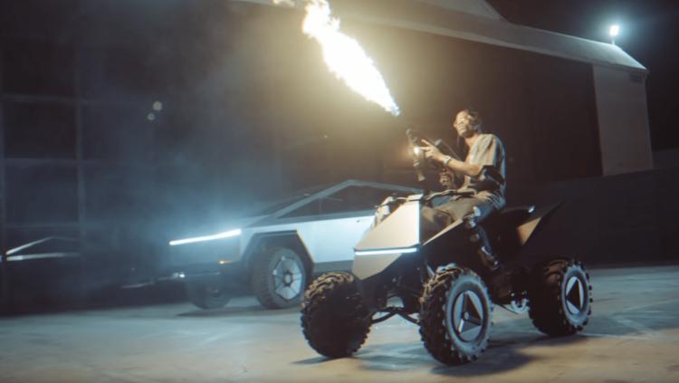 Пикап Tesla Cybertruck появился в клипе американского хип-хоп исполнителя
