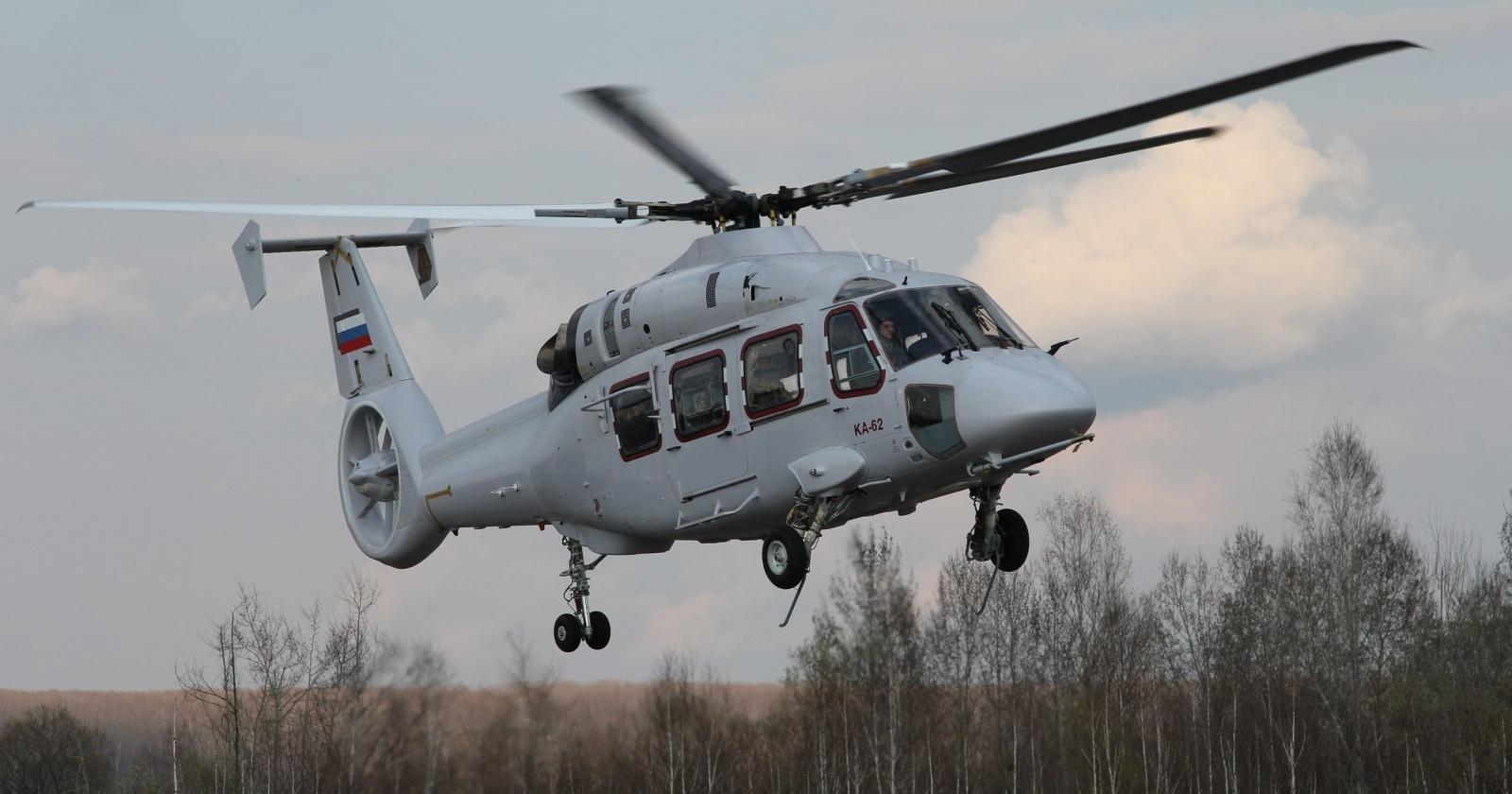 Третий лётный образец Ка-62 поднялся в воздух