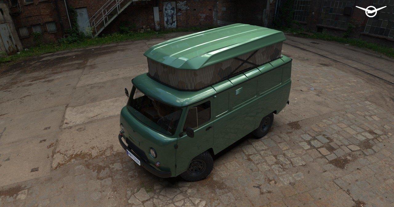 УАЗ может выпустить дом на колесах на базе «Буханки»