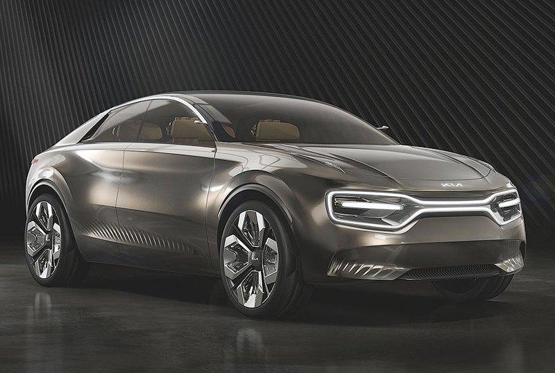 Kia выпустит серийную версию электрокроссовера Imagine в 2021 году