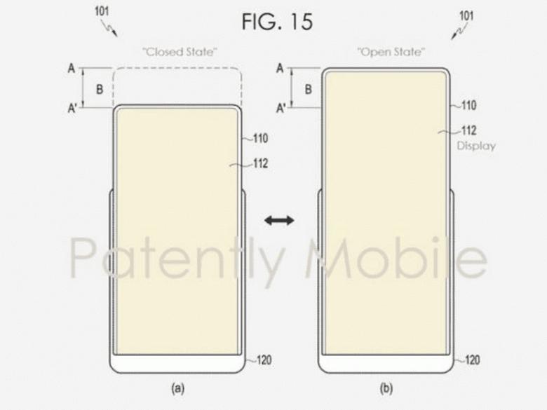 Экран нового смартфона Samsung сможет растягиваться