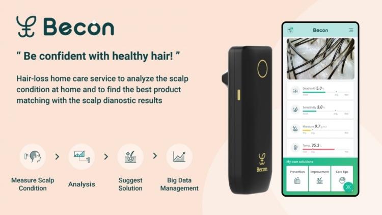 Новые эксперименты Samsung C-Lab включают набор текста через камеру смартфона и сканер кожи головы