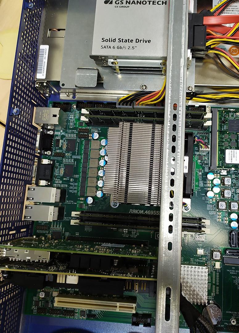 СХД AERODISK на отечественных процессорах Эльбрус 8С - 10