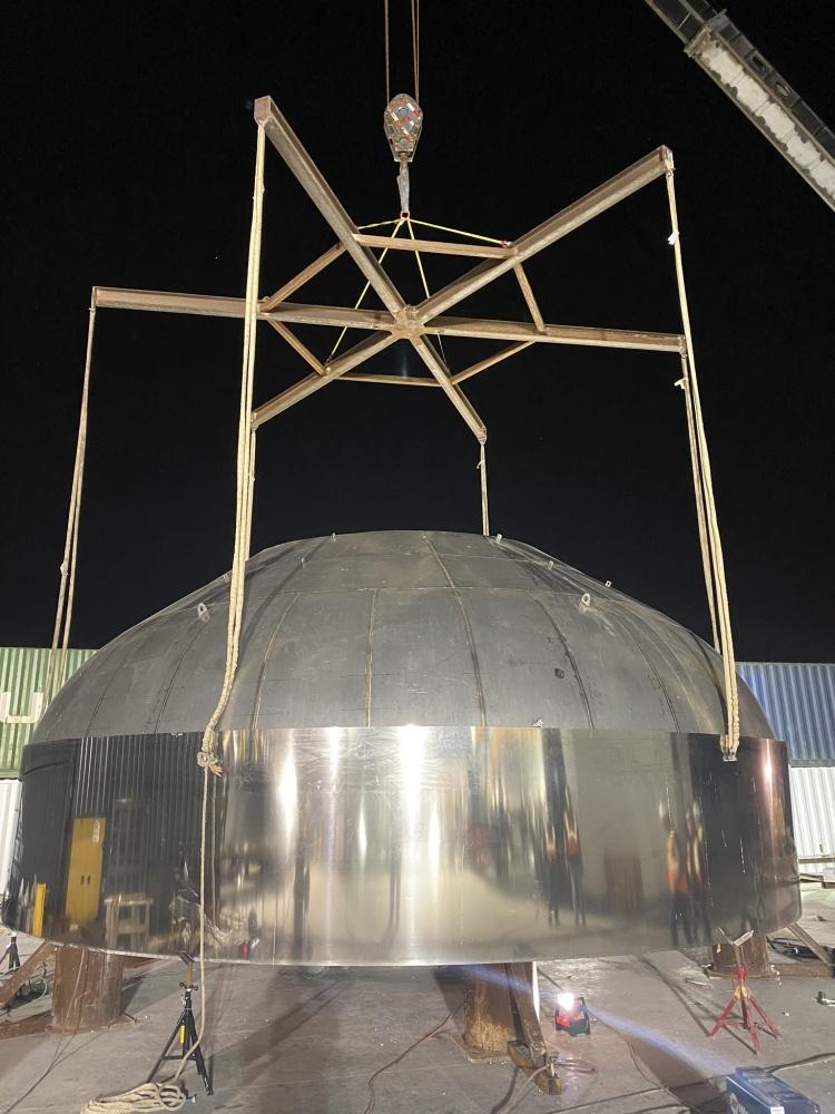 Илон Маск обещает произвести тестовый запуск межпланетного корабля SpaceX Starship через 2–3 месяца