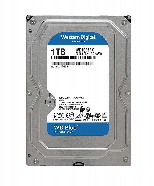 Жесткий диск WD Blue объемом 1 ТБ подешевел до 40 долларов