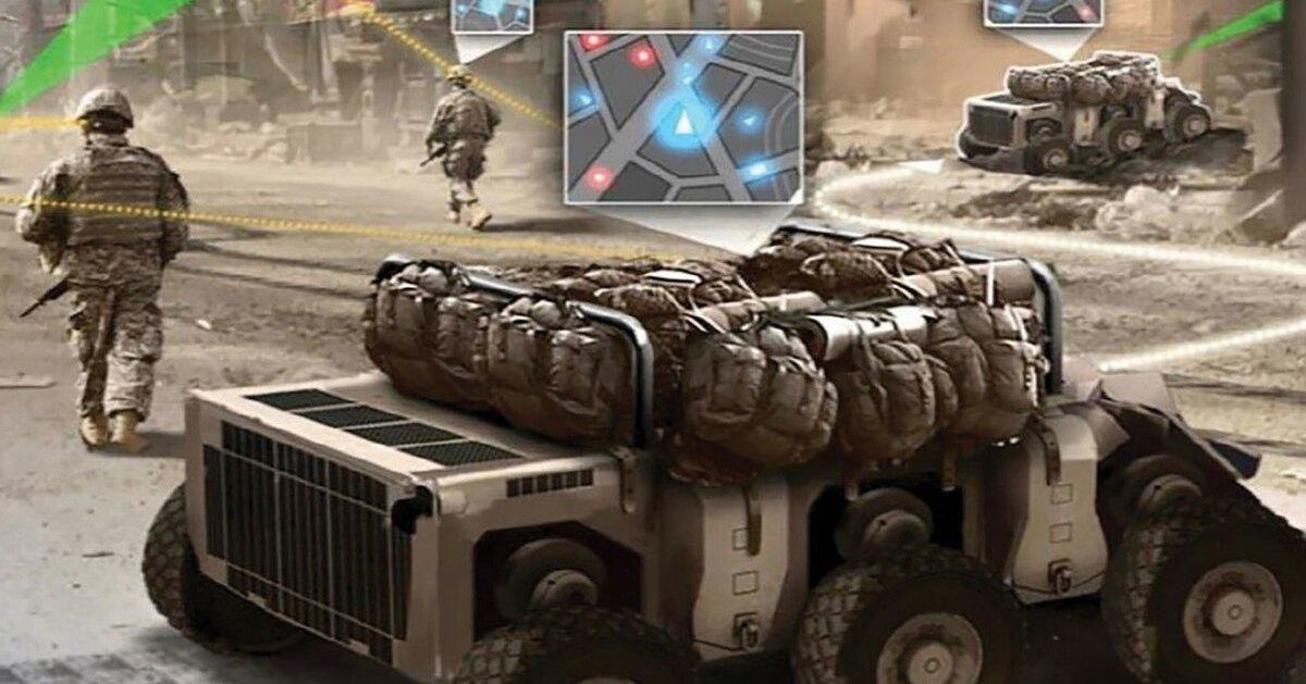 Солдаты получат роботизированных помощников