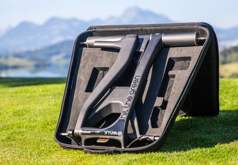 Тележка для гольфа, движущаяся в соответствии со скоростью пользователя - 4