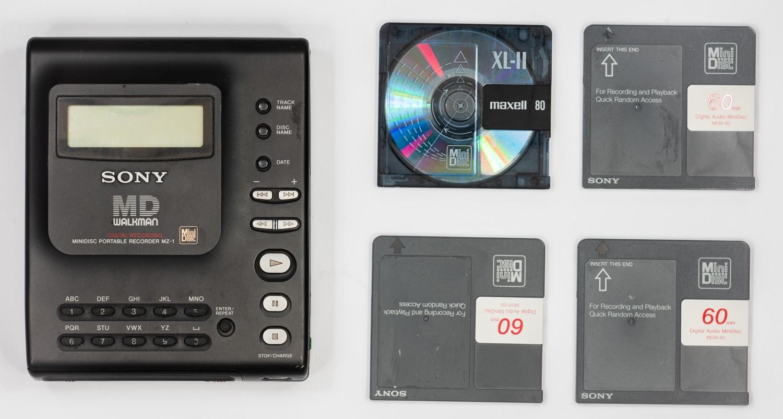 Древности: Sony MZ-1 или история о прототипе, попавшем в производство - 18