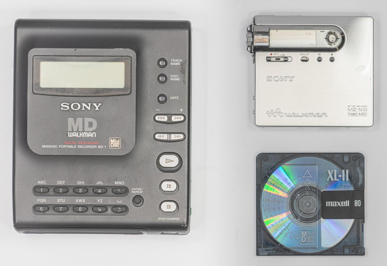 Древности: Sony MZ-1 или история о прототипе, попавшем в производство - 29
