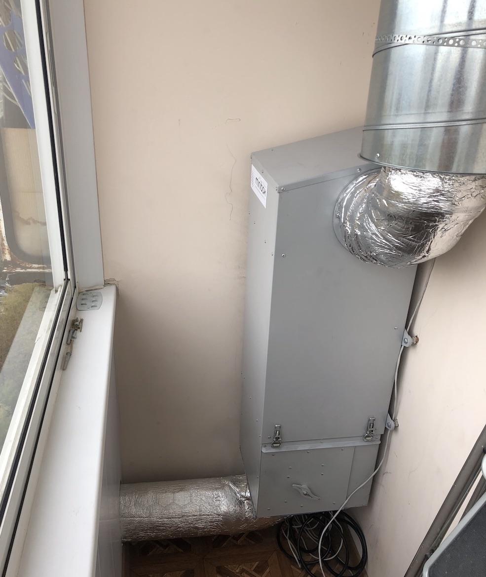 Как я чуть не выкинул 150к на ветер или история установки приточной вентиляции в квартире - 1