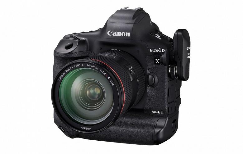 Появились подробные спецификации камеры Canon EOS-1D X Mark III - 1