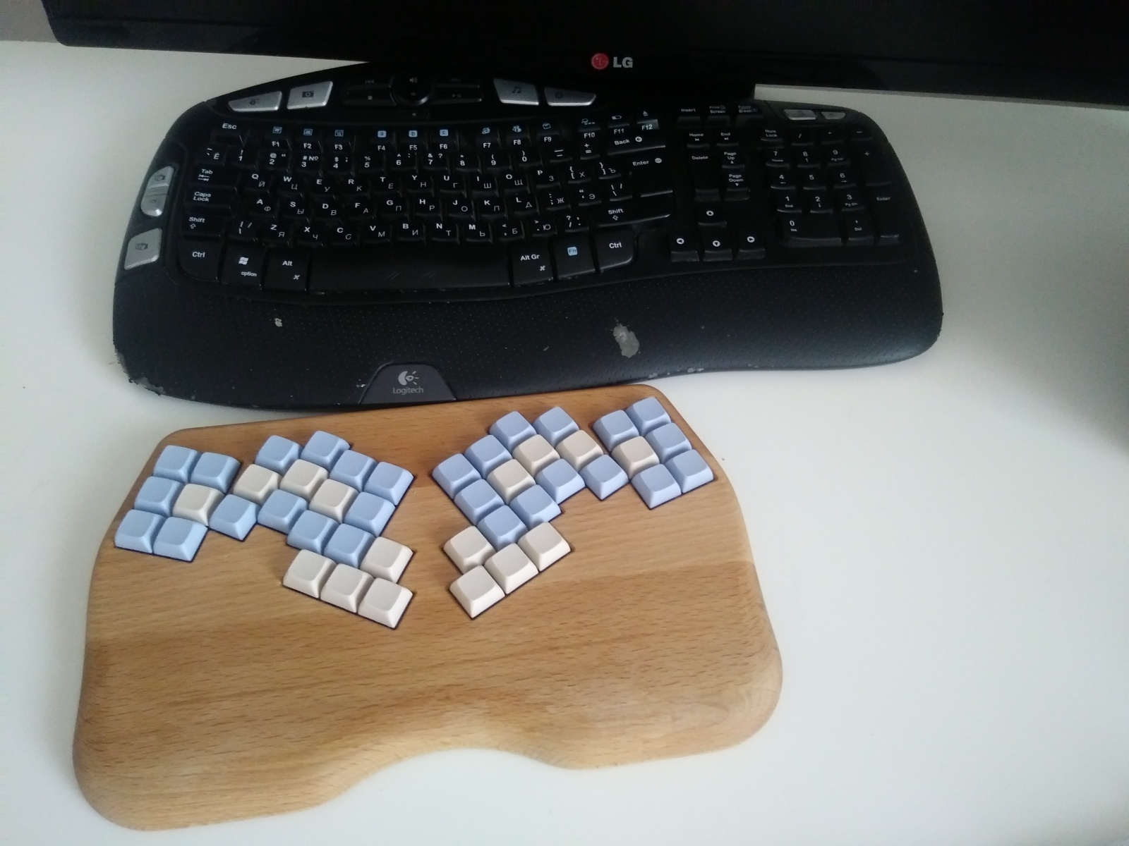 На пути к идеальной клавиатуре - 9
