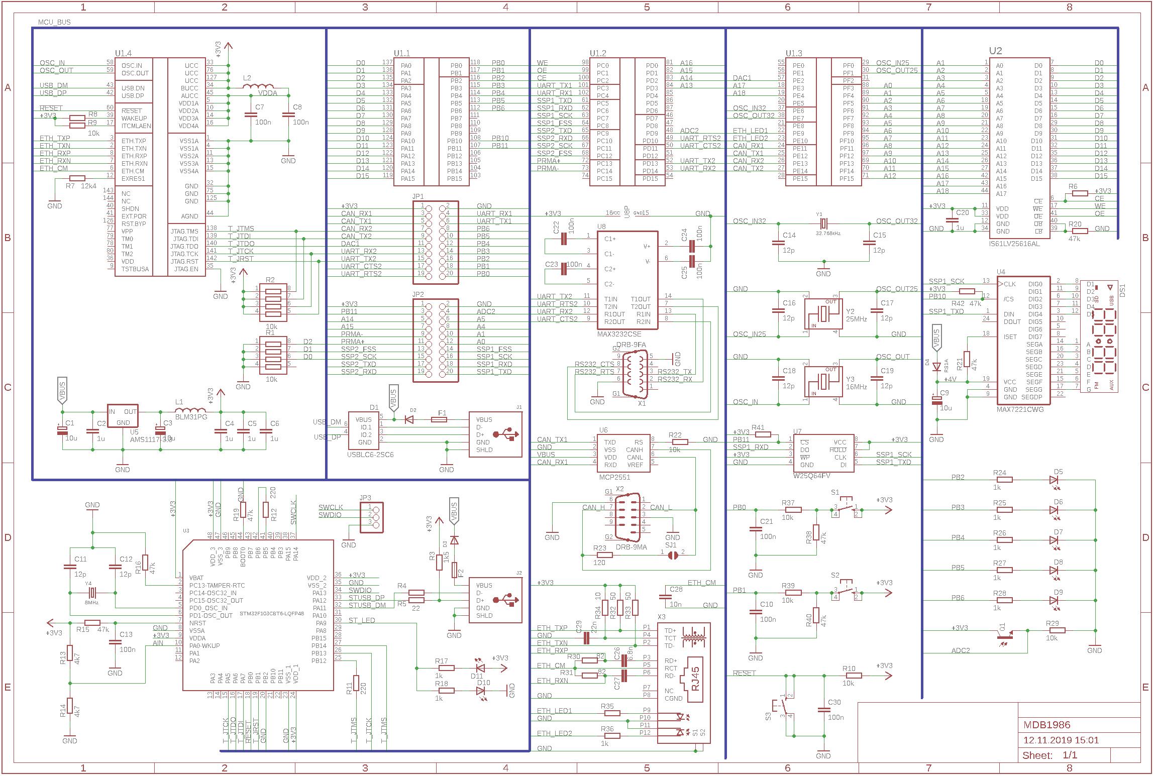 Разработка отладочной платы для К1986ВЕ1QI (авиа) - 11