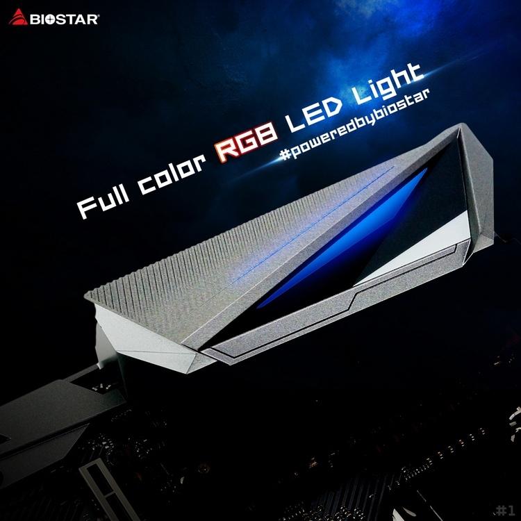 Biostar опубликовала первое изображение материнской платы на Intel Z490