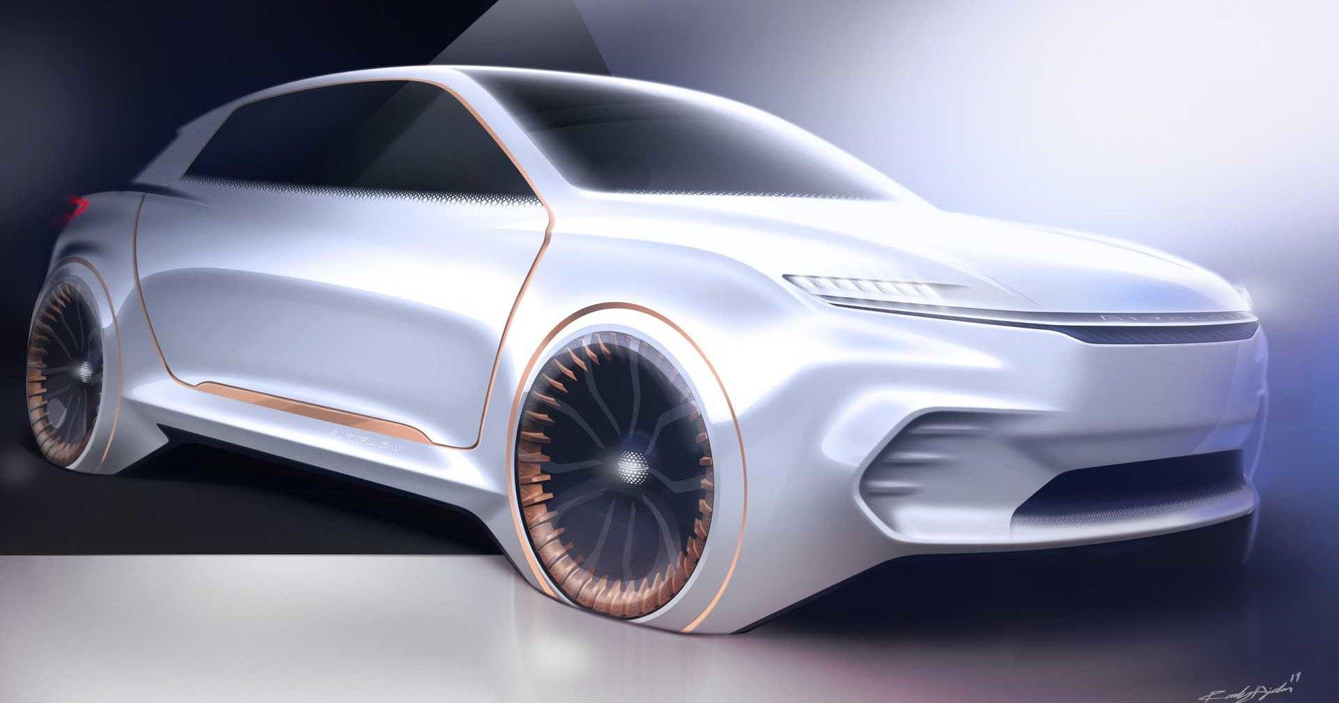 Chrysler покажет автомобиль для путешествий